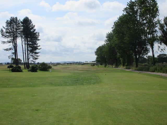 Monifieth Ashludie 12th hole, Burnside