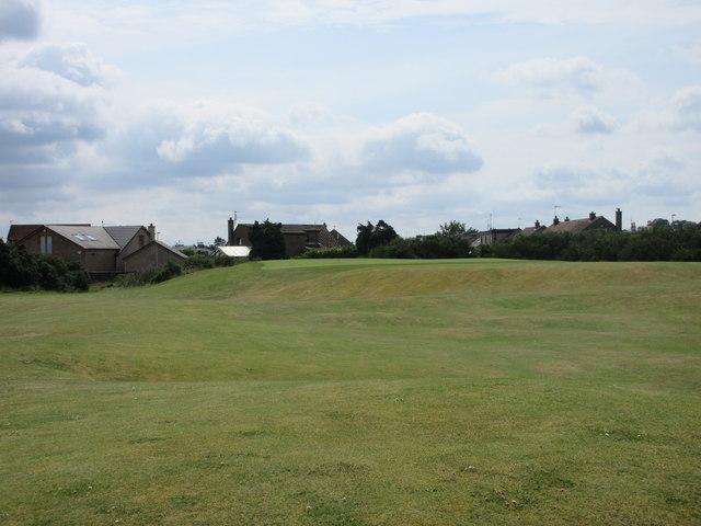Monifieth Ashludie 13th hole, West Camp