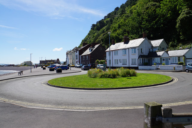 Roundabout on Quay West