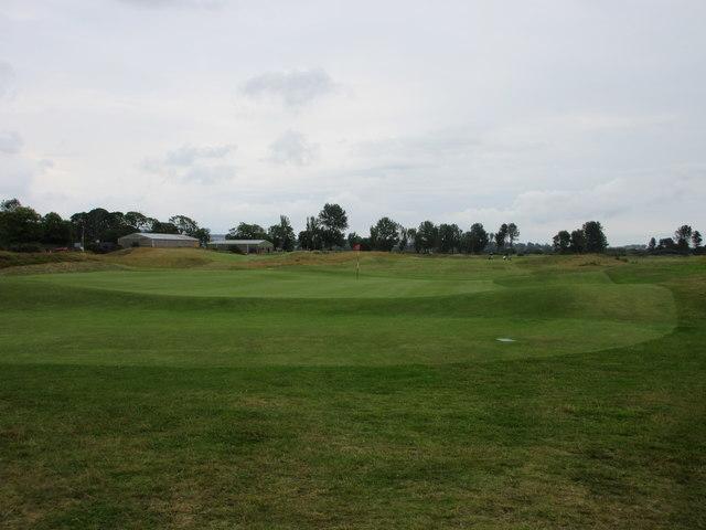 Monifieth Ashludie 18th hole, Westward Ho