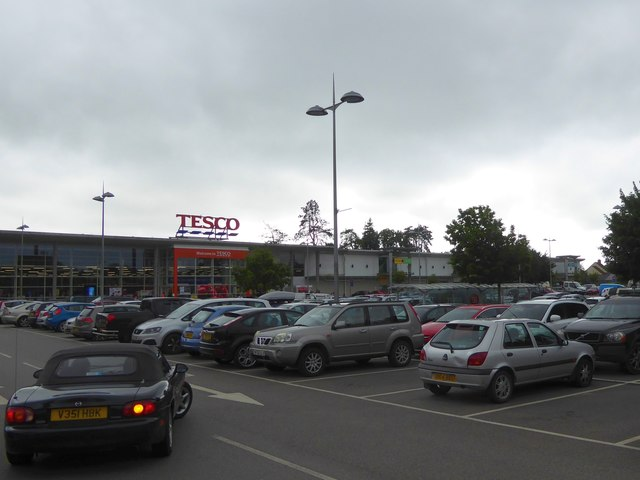 Tesco superstore, Shepton Mallet