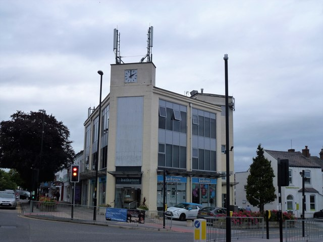 Art Deco building on Leeds Road, Harrogate