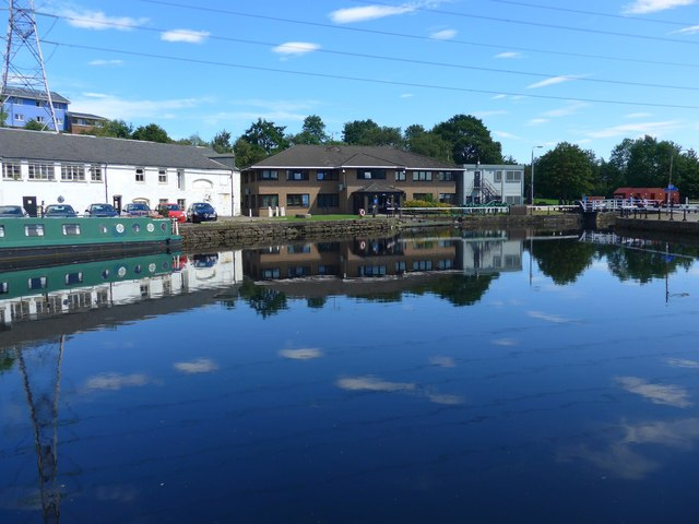 Basin on the Forth & Clyde Canal
