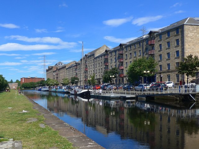 Speirs Wharf, Forth & Clyde canal