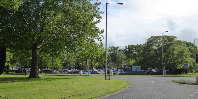 Car park for Clarks Village shopping complex