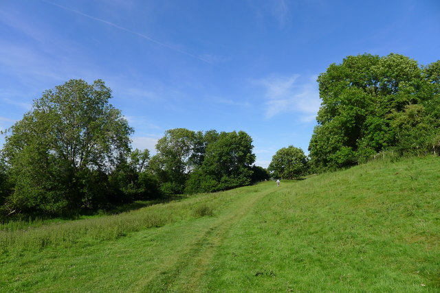 The Cotswold Way above North Stoke