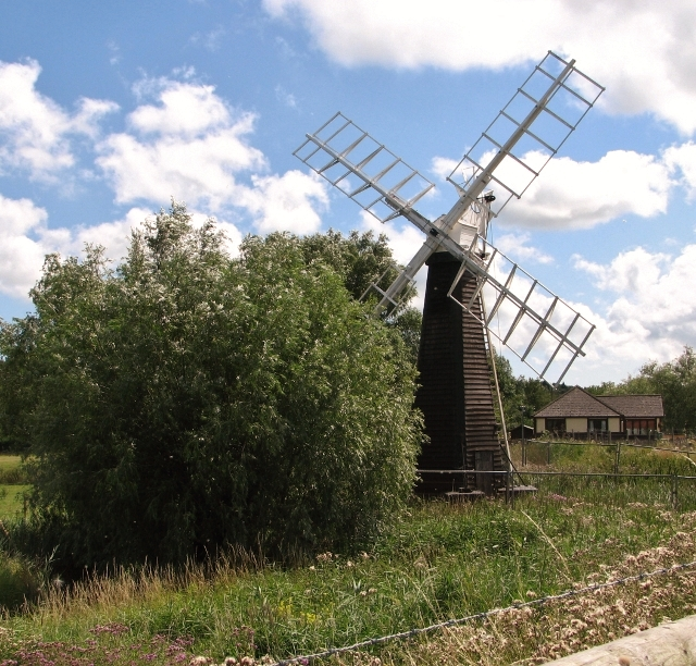 St Olaves drainage mill