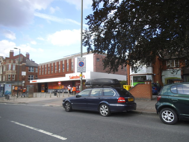 Sainsbury's on Finchley Road, Golders Green