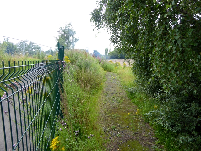 Path diversion on the Keelman's Way