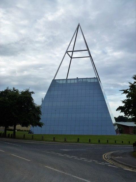 Pyramid on Hornbeam Park near Harrogate