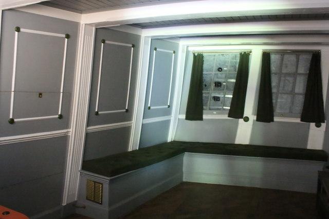Cabin of the Bon Homme Richard