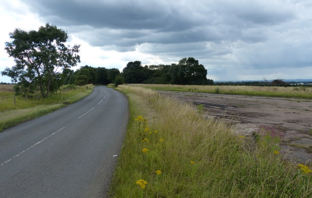 Gaulby Lane near Leicester Airport