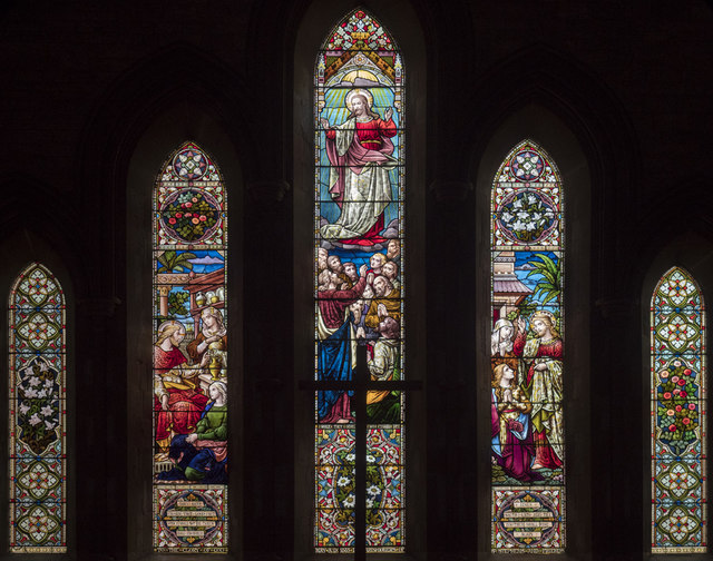 St Stephen, Tonbridge - Stained glass window
