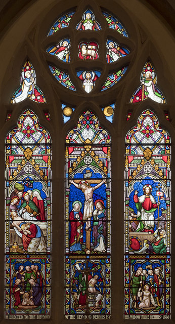 St Peter, East Blatchington - Stained glass window