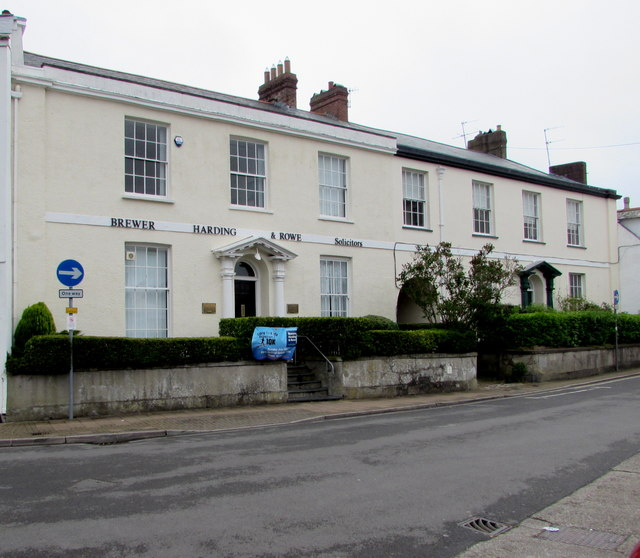 Brewer Harding & Rowe office, Barnstaple