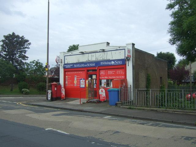 Post Office on Blackford Avenue, Edinburgh EH9