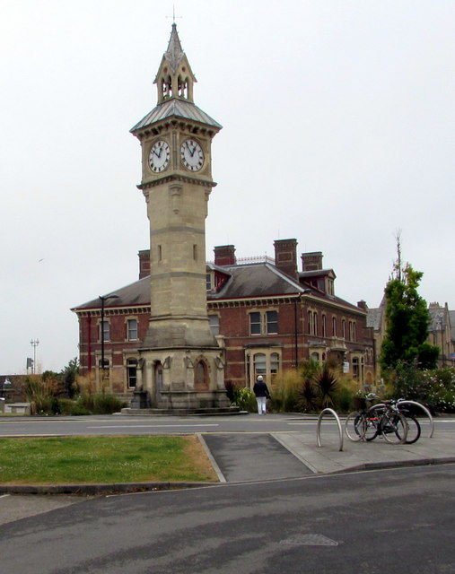 Grade II listed clock tower, Barnstaple