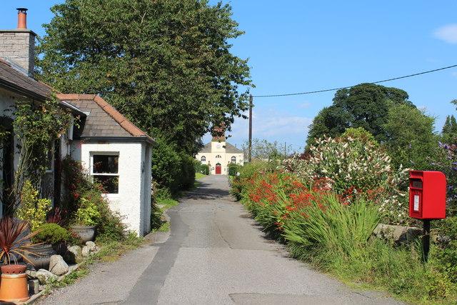 Road to Primary School, Kirkbean