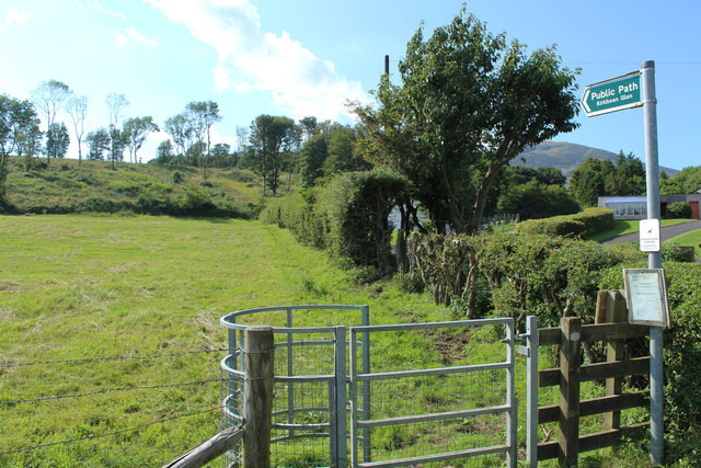 Public Path to Kirkbean Glen
