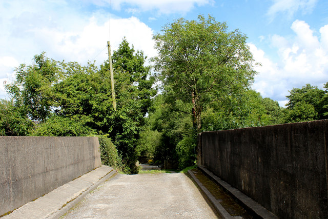 Access Bridge across the Blackburn/Clitheroe Line, Wilpshire