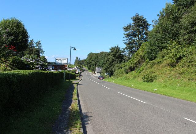 A710 at Kirkbean
