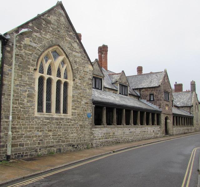 Grade I listed Penrose Almshouses, Litchdon Street, Barnstaple