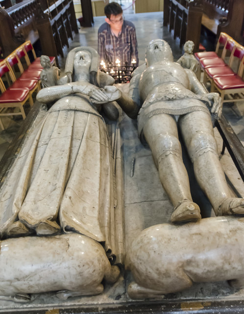 Tomb of Thomas Beauchamp, St Mary's church, Warwick