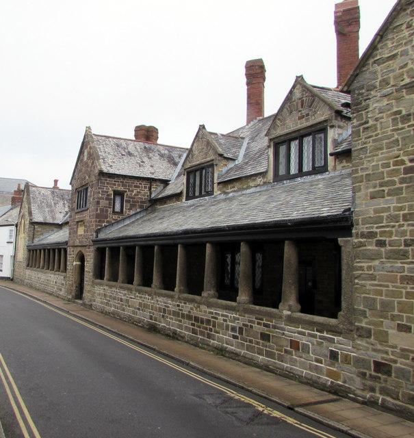 Penrose Almshouses, Litchdon Street, Barnstaple
