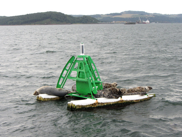 Firth of Forth navigation buoy Number 17