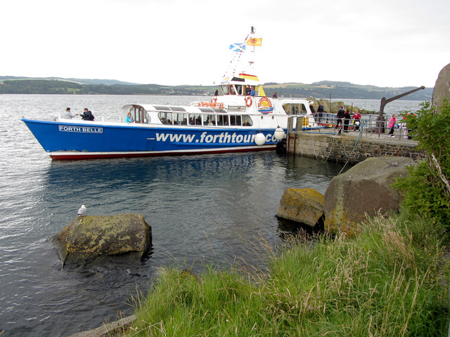 Forth Belle at Inchcolm Island
