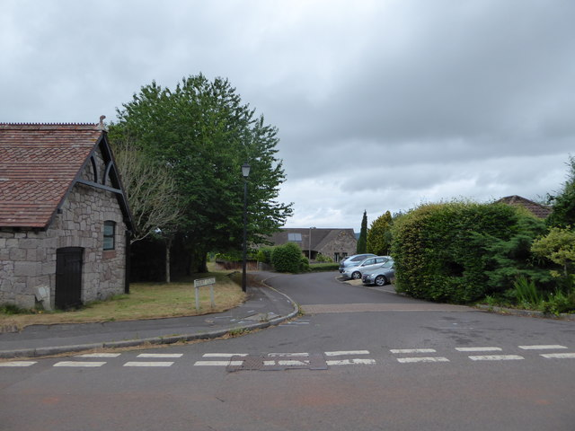 Looking from Church Lane into Court Close