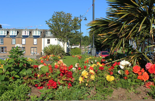 Flower Bed, Kirkcudbright