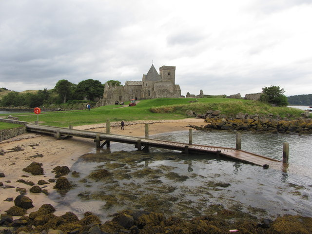 Jetty on Inchcolm