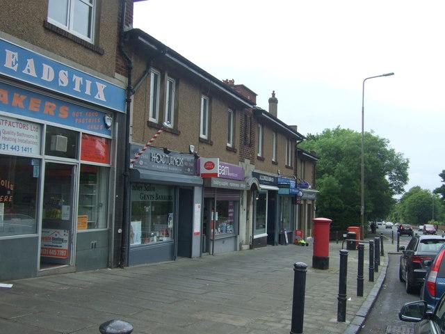 Post Office on Comiston Road, Edinburgh EH10