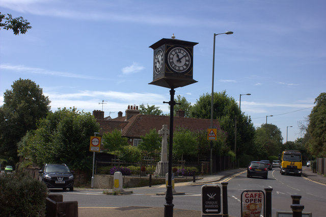 Merstham clock