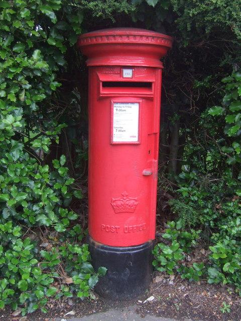 Elizabethan postbox on Comiston Road, Edinburgh EH10