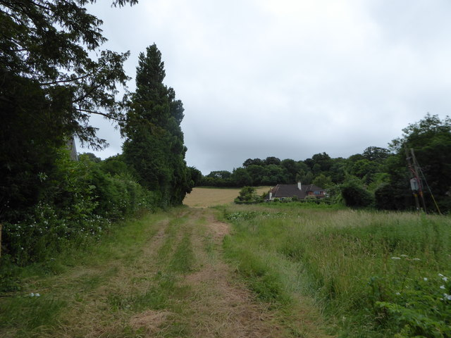 Footpath from Church Lane to Cherry Wood