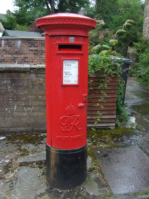 George VI postbox on Bridge Street, Penicuik