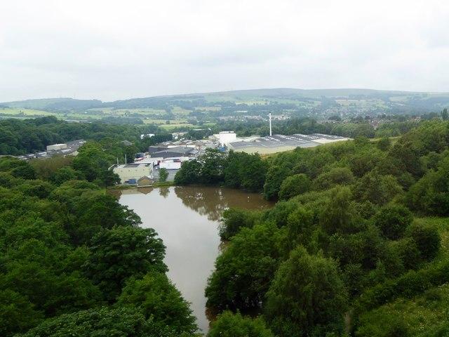 Reservoir near Dinting