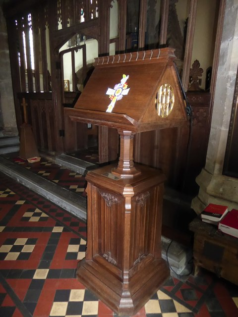 St Andrew, Backwell: lectern