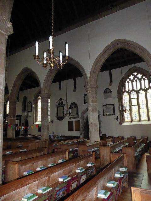 Inside St Andrew, Backwell (F)