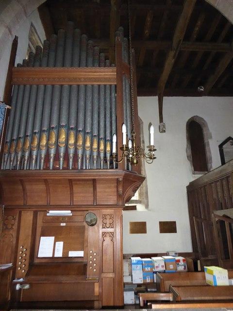 Inside St Andrew, Backwell (N)
