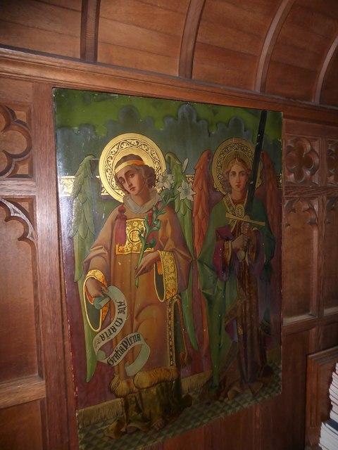 Inside St Andrew, Backwell (P)