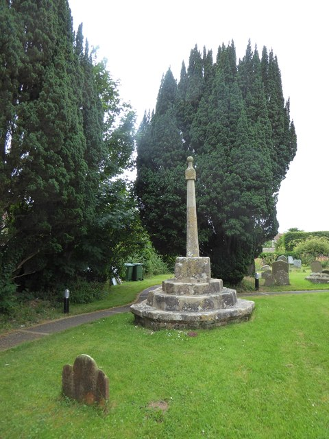 St Bridget, Chelvey: churchyard (a)