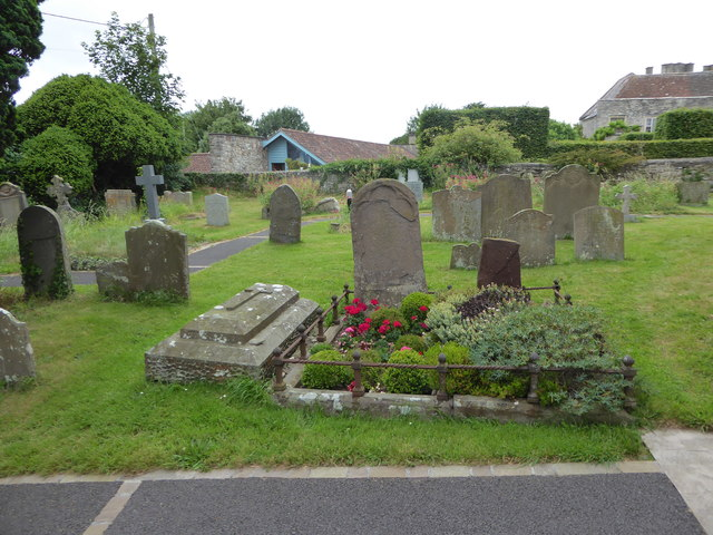 St Bridget, Chelvey: churchyard (b)