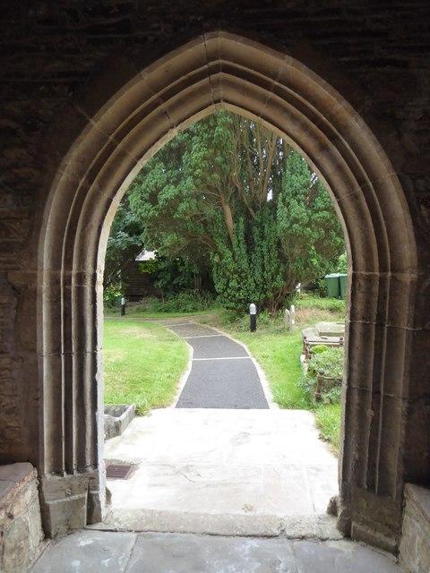 St Bridget, Chelvey: churchyard (c)