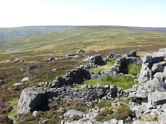 Sheepfold below Monk's Currick