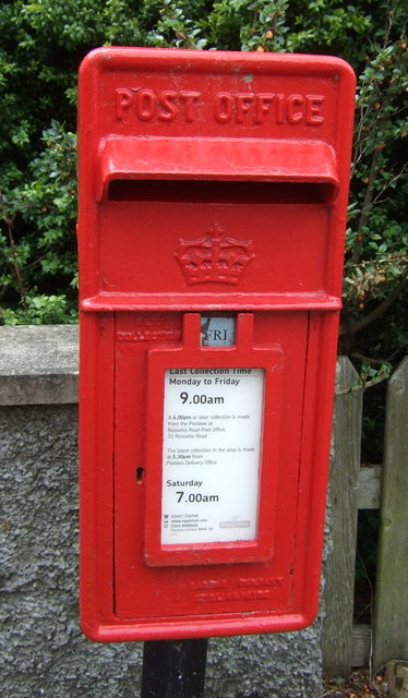 Elizabethan postbox on Edinburgh Road, Peebles