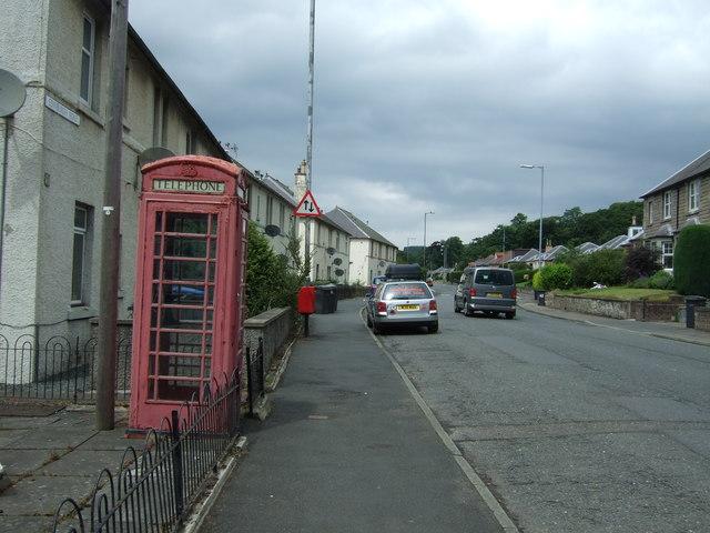 Edinburgh Road, Peebles