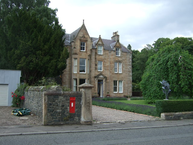 House on Innerleithen Road, Peebles